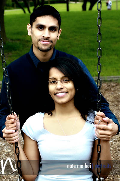Joel and Nisha's E-Session in Arlington Heights, IL
