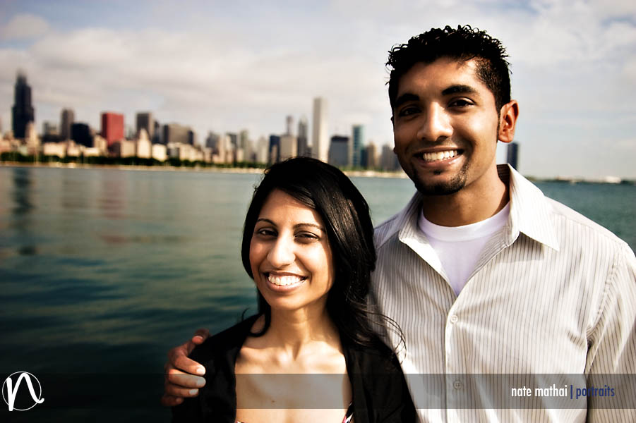 Lenie and Namratha's E-Session in Chicago, IL