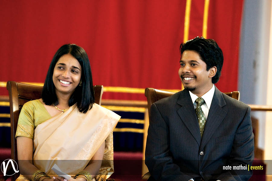 Linu and Sunil's Engagement at Chicago Mar Thoma Church in Des Plaines, IL