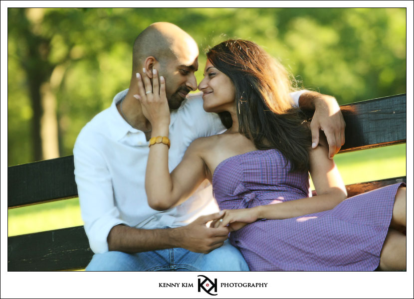 Nate and Nithya's E-Session in Chicago, IL by Kenny Kim Photography