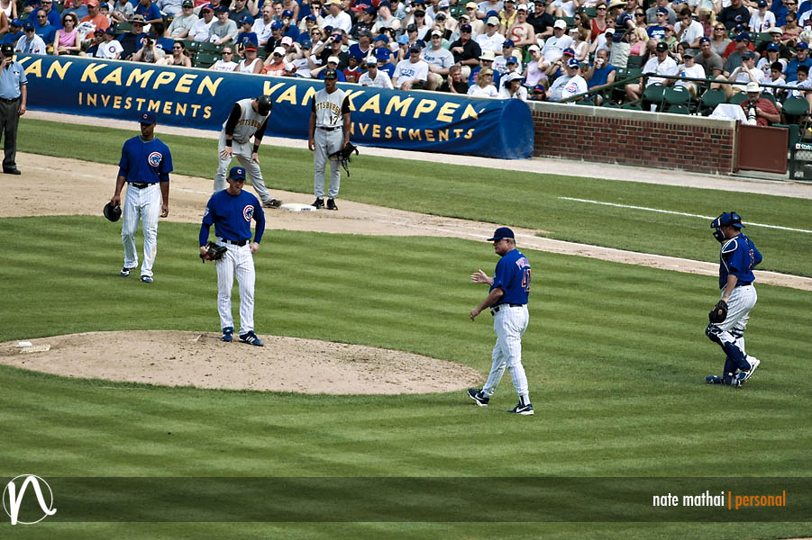 Chicago Cubs in Wrigley Field