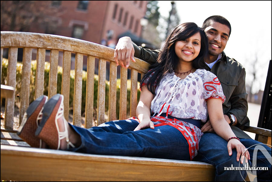 top image for Jaimy + Sijin: E-Session (Part I) by chicago wedding photographer nate mathai