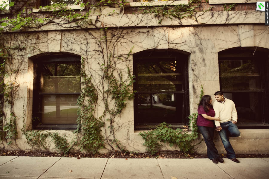chicago wedding photographer. susie and shawn's e-session in ann arbor, michigan