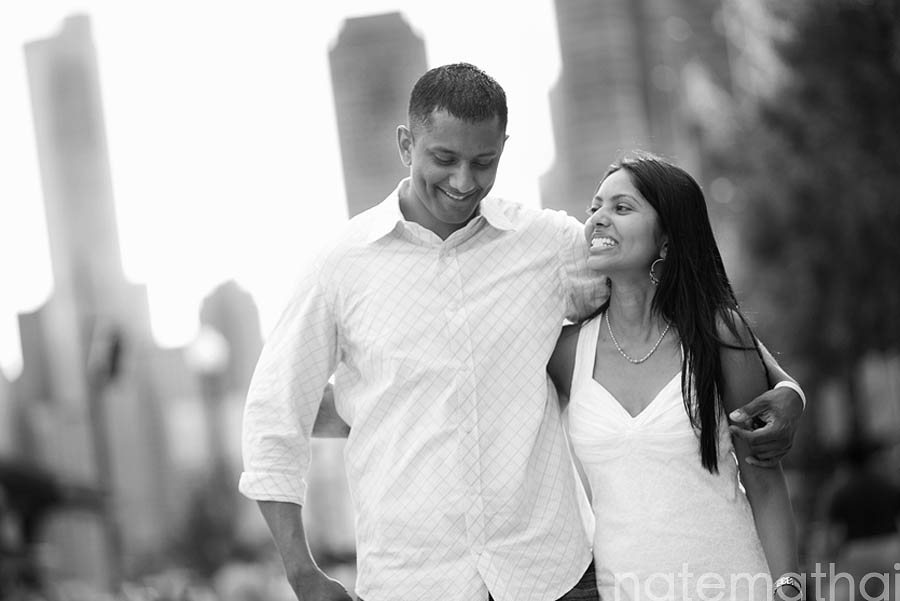 chicago wedding photography images | ann and jim, chicago illinois, modern portraits