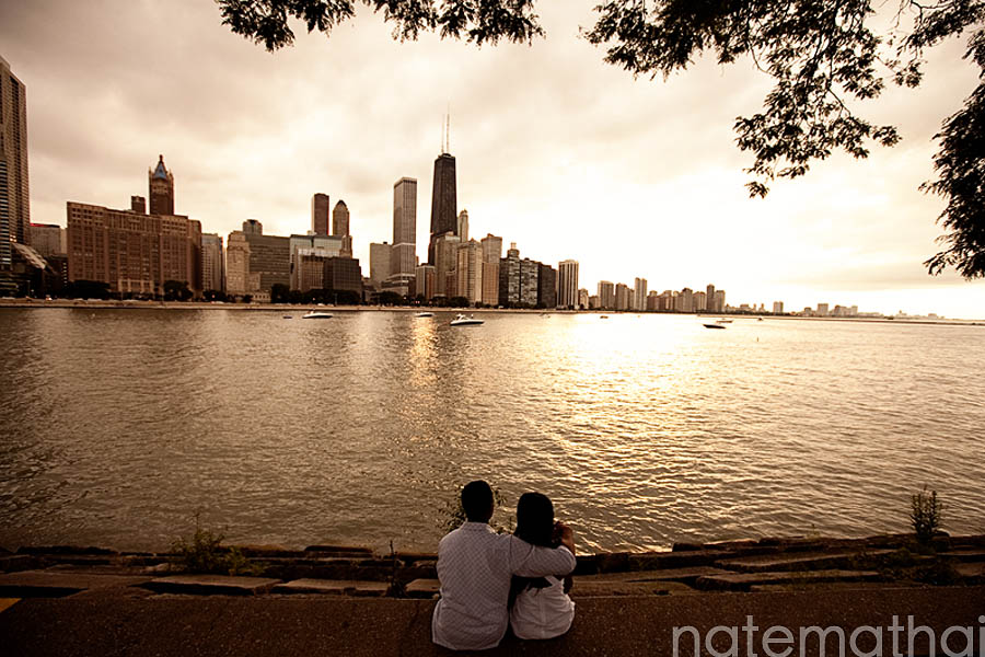 chicago wedding photography images | chicago illinois, e-session, navy pier