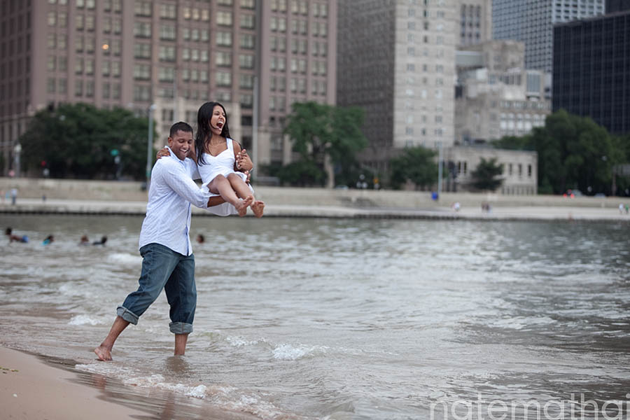 chicago wedding photography images | chicago wedding photographer, lake michigan, modern portraits