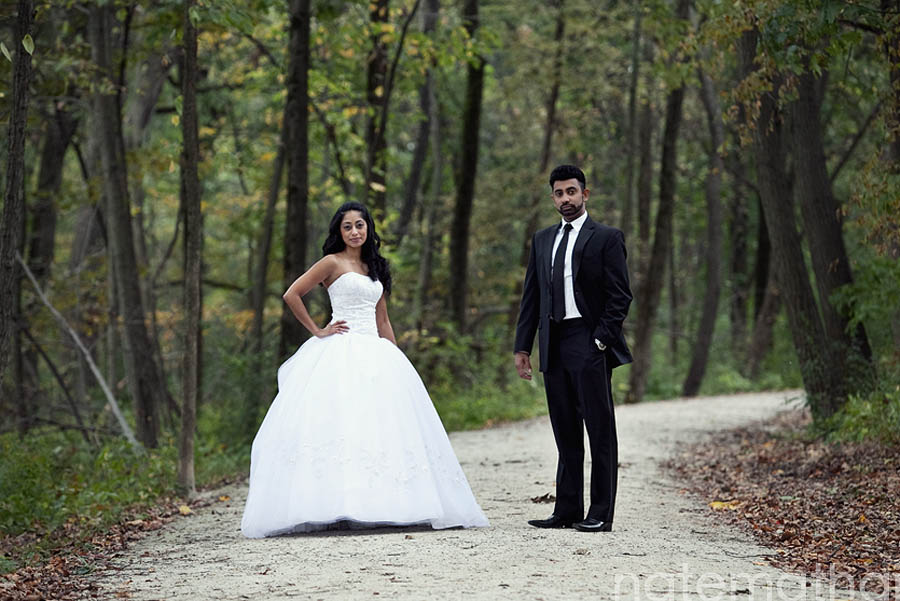 chicago wedding photographer.  tracey and jojee's modern portraits at fullersburg preserve in oak brook, illinois
