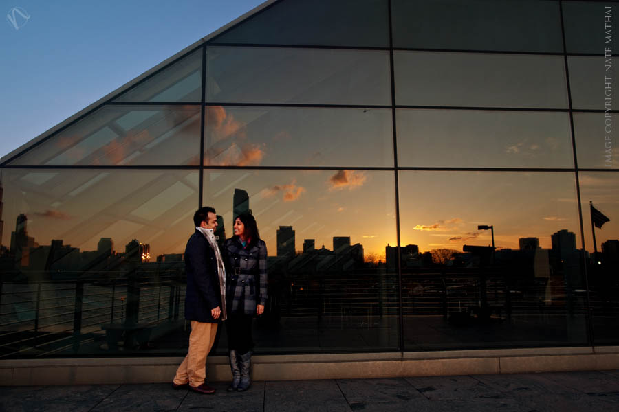 top image for Radhika + Kunal : modern portraits {teaser} by chicago wedding photographer nate mathai