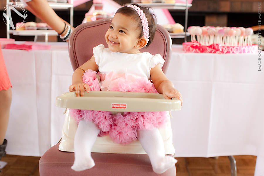 top image for Eden's First Birthday by chicago wedding photographer nate mathai