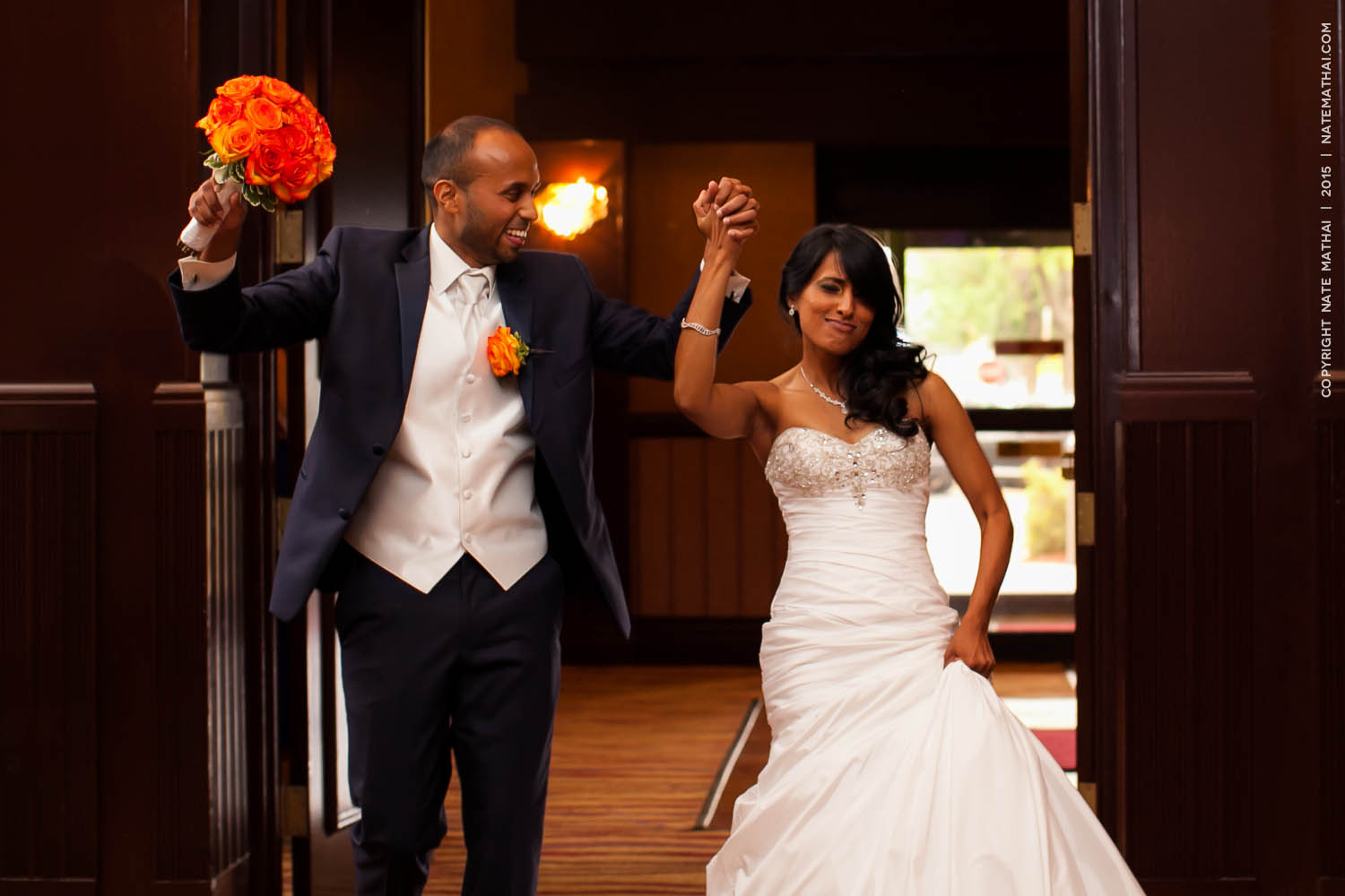 top image for Taniya and Jeffrey's Wedding Teasers by chicago wedding photographer nate mathai
