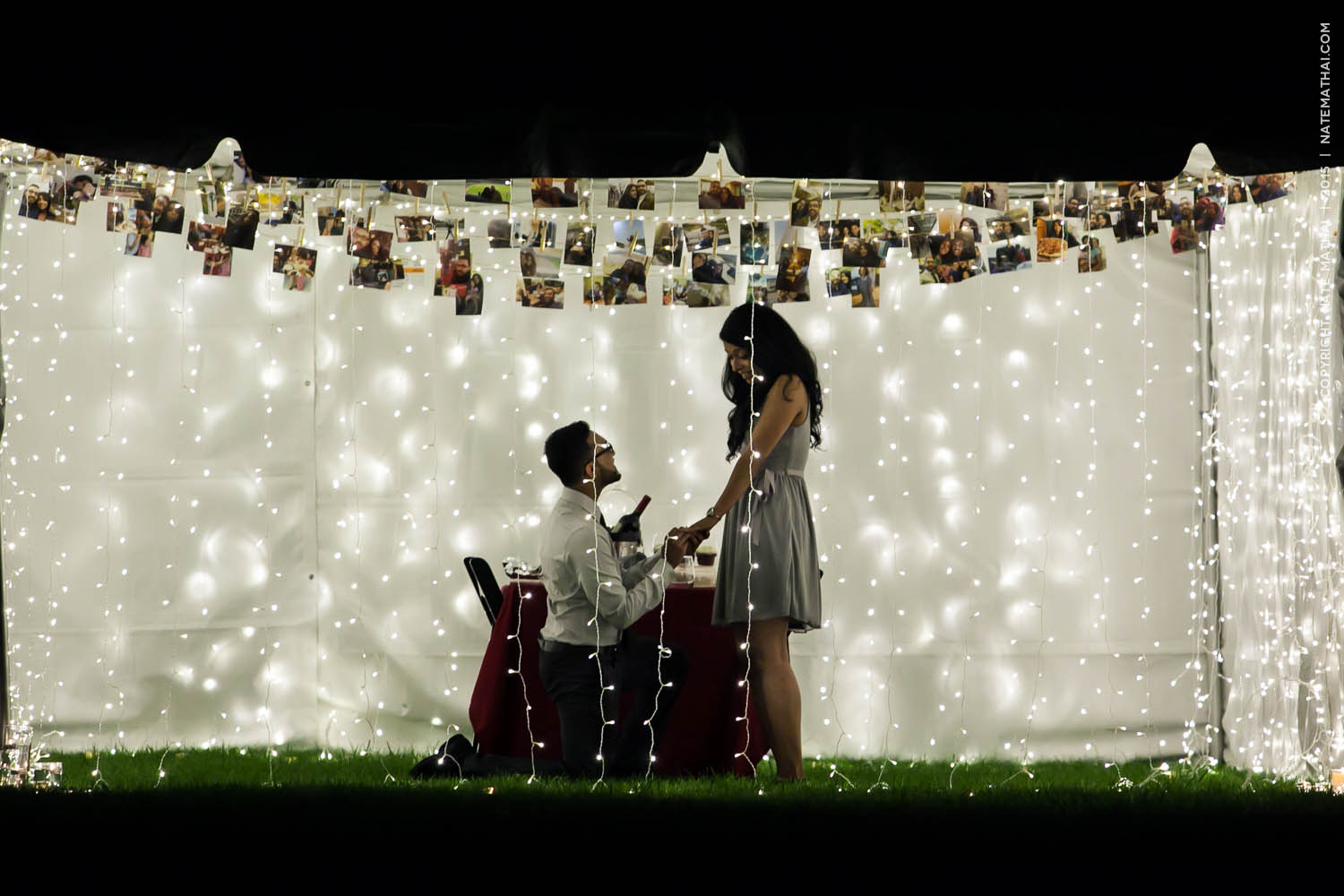 top image for Jilu and Sarah's Proposal Teaser by chicago wedding photographer nate mathai