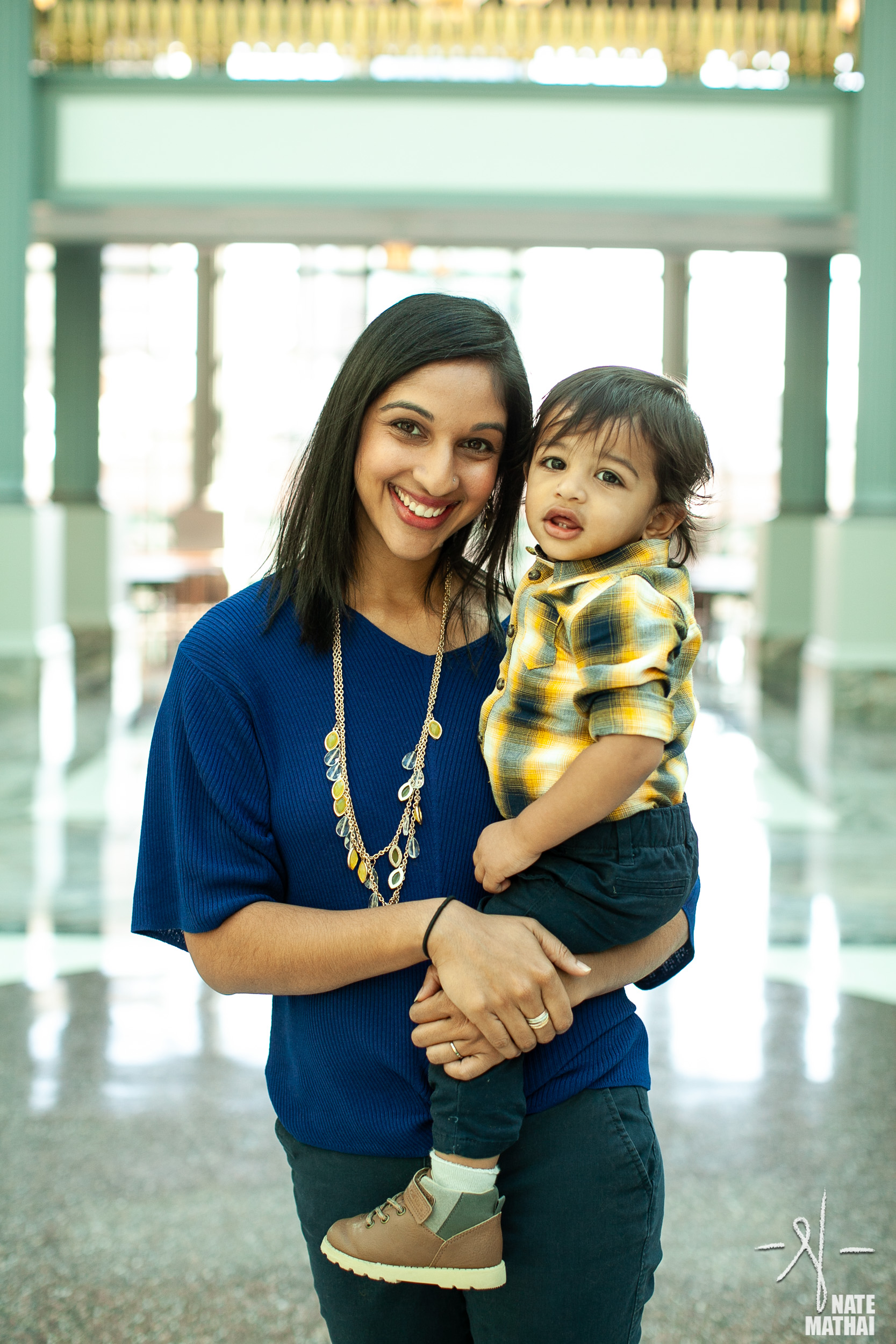 top image for Bhansali Family Portraits by chicago wedding photographer nate mathai