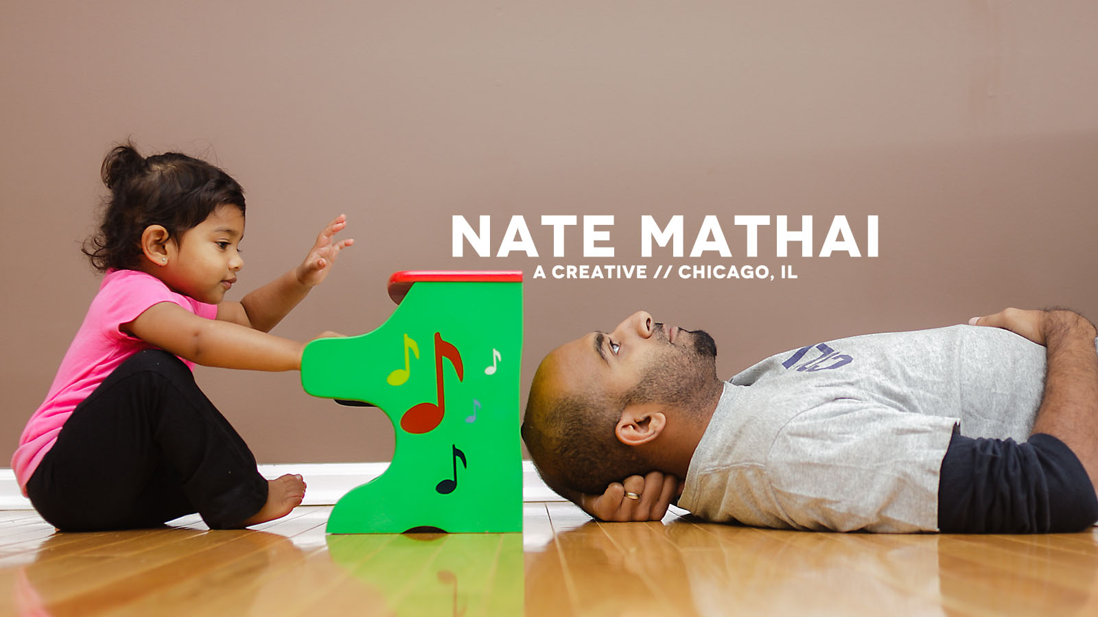 top image for Baby Seylah by chicago wedding photographer nate mathai