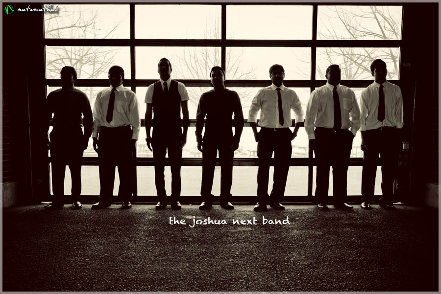 top image for The Joshua Next Band {teaser} by chicago wedding photographer nate mathai
