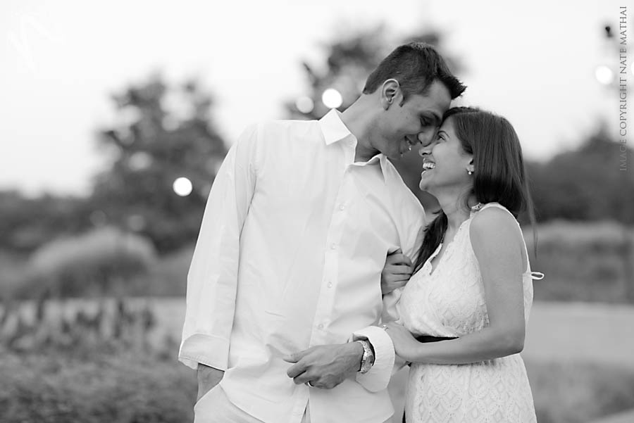 top image for Ekta and Dig's Downtown Chicago Portraits by chicago wedding photographer nate mathai