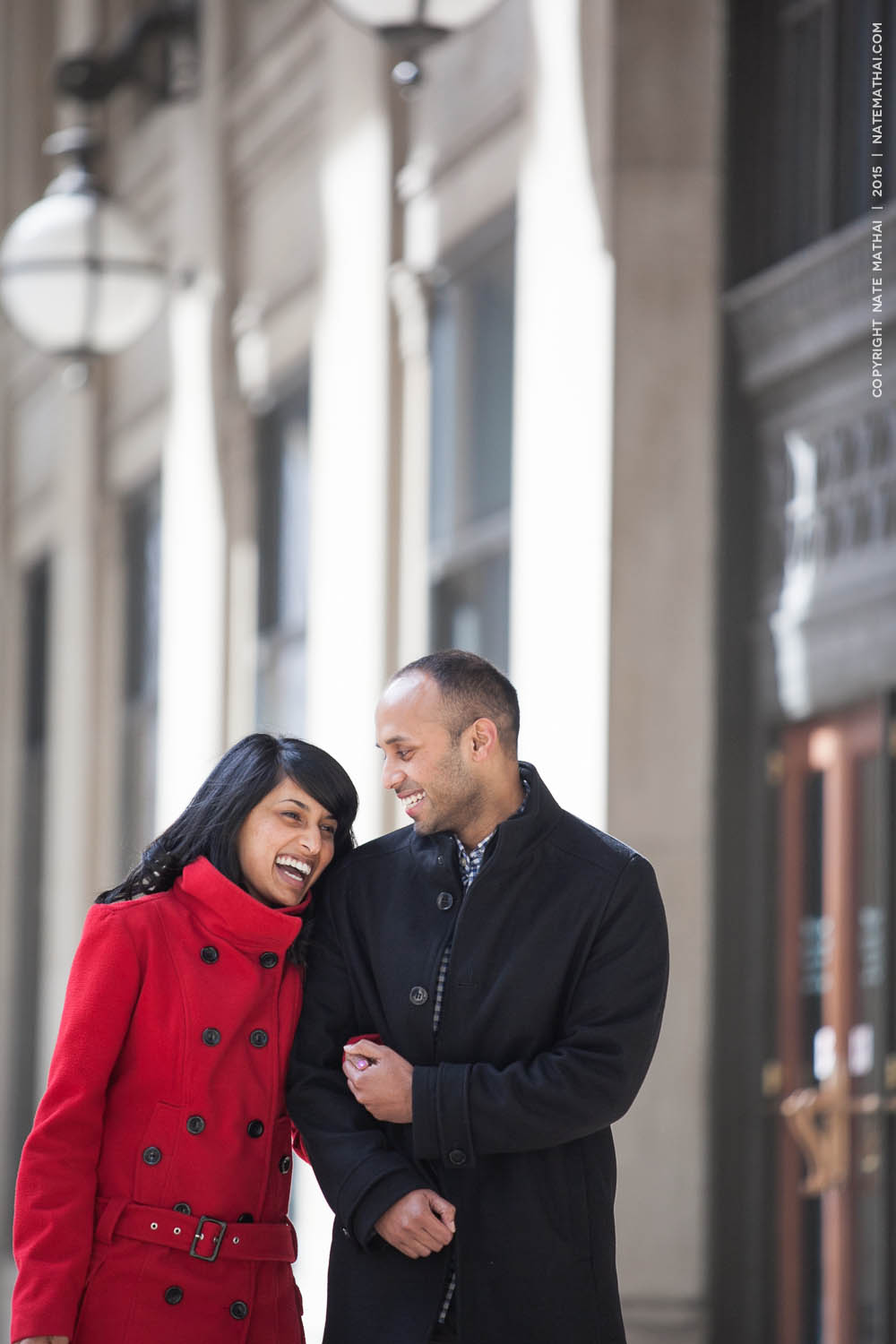 top image for Taniya and Jeffrey's Chicago Portraits Teasers by chicago wedding photographer nate mathai